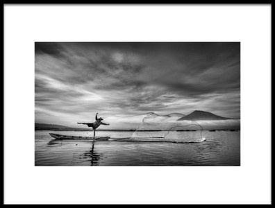 Buy this art print titled Man Behind the Nets by the artist Arief Siswandhono