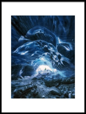 Buy this art print titled Man In the Ice Cave by the artist joanaduenas