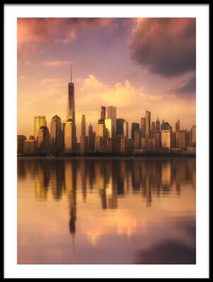 Buy this art print titled Manhattan by the artist David Martín Castán