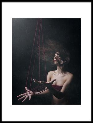 Buy this art print titled Marionetas by the artist claudia méndez cordero