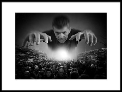Buy this art print titled Master of Puppets by the artist Nermin Smajić