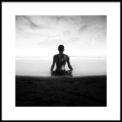 Art print titled Meditasi by the artist ajie alrasyid