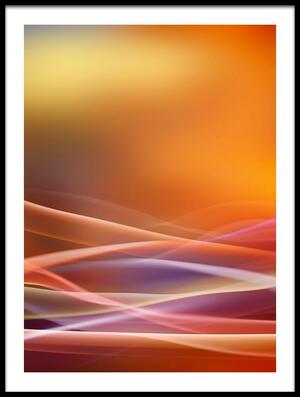 Art print titled Mediterranean Sunset by the artist Xavier Garci