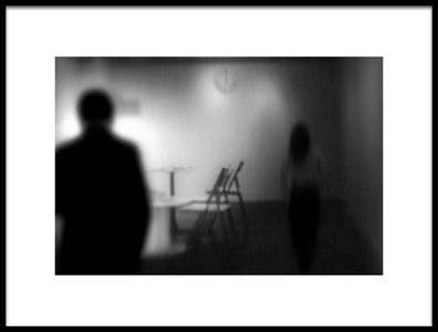 Art print titled Meeting Is Over by the artist Teruhiko Tsuchida
