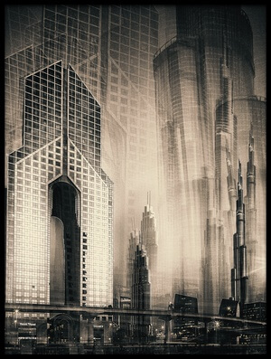 Buy this art print titled Megacity by the artist carsten Velten