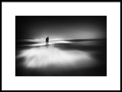 Art print titled Melancholy Coast by the artist Marianne Siff Kusk