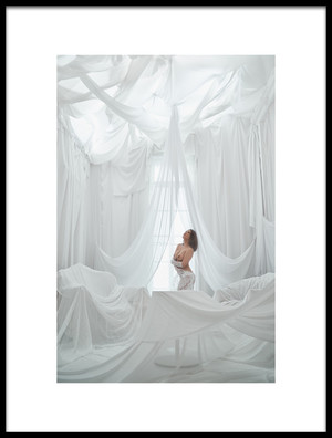 Art print titled Memories of the White Room by the artist Naoya Nakagawa