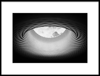 Art print titled Messe Basel New Hall 01 by the artist Alessio Forlano