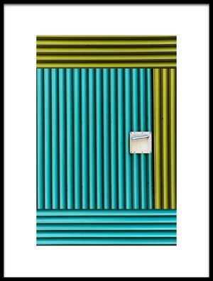 Buy this art print titled Metal Door by the artist Jois Domont ( J.L.G.)