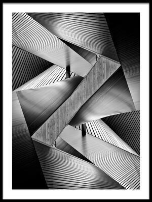 Buy this art print titled Metal Origami by the artist Koji Tajima