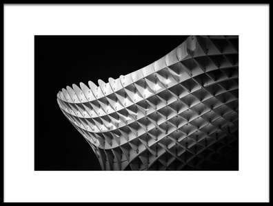 Art print titled Metropol Parasol 02 by the artist Alessio Forlano