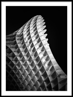 Art print titled Metropol Parasol #02 by the artist Alessio Forlano