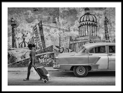 Buy this art print titled Mi Habana by the artist Andreas Bauer