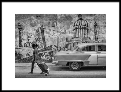 Art print titled Mi Habana by the artist Andreas Bauer