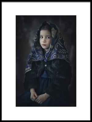 Buy this art print titled Michaela by the artist Katarina Grajcarikova
