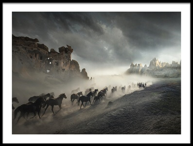 Art print titled Migration by the artist Hüseyin Taşkın