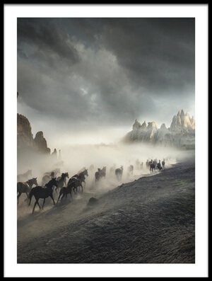 Buy this art print titled Migration II by the artist Hüseyin Taşkın