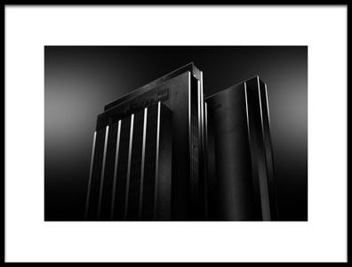 Art print titled Minimal Archi by the artist Matthias Hefner