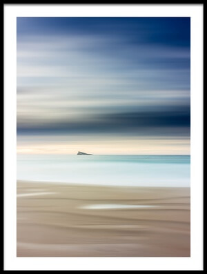 Buy this art print titled Minimalist Island by the artist Tomás Béjar Manda
