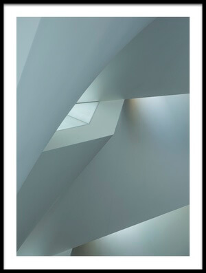 Buy this art print titled Minimalistic Play of Lines and Light by the artist Roland Shainidze