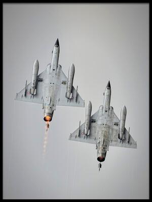 Art print titled Mirage 2000N by the artist Rafał Czernia