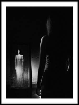 Buy this art print titled Mirror by the artist jay satriani