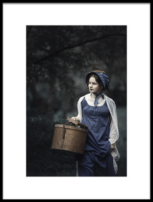 Art print titled Miss Anna by the artist Magdalena Russocka