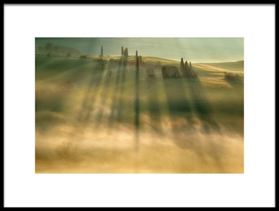 Buy this art print titled Mist by the artist Krzysztof Browko