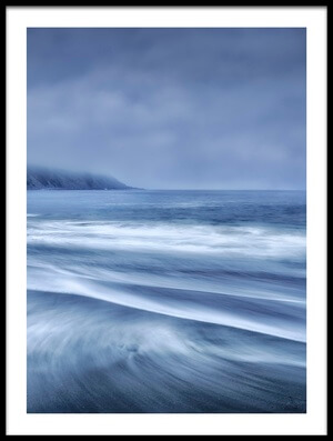 Buy this art print titled Mists In the Sea by the artist Fran Osuna