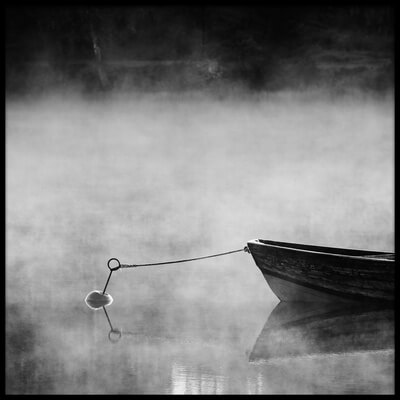 Art print titled Misty by the artist Mats Persson