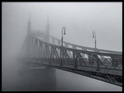 Buy this art print titled Misty Bridge by the artist Sergey Davydov
