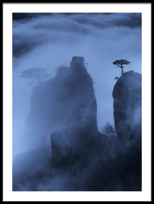 Art print titled Misty Demerdji by the artist Alexey Kharitonov