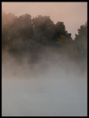 Buy this art print titled Misty Lake #3 by the artist 李从军 / Austin Li