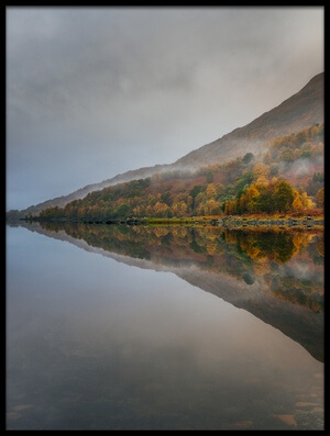 Buy this art print titled Misty Loch by the artist Adrian Popan