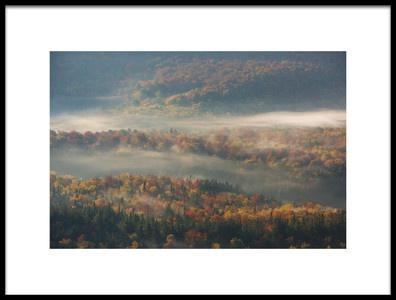 Art print titled Misty Morning by the artist 李从军 / Austin Li