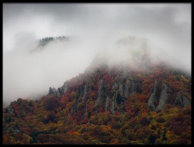 Buy this art print titled Misty Mountains by the artist Chris Vasiliadis