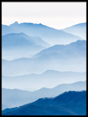 Buy this art print titled Misty Mountains II by the artist Gwangseop eom