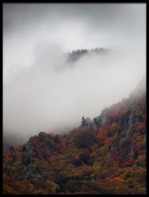 Buy this art print titled Misty Mountains II by the artist Chris Vasiliadis