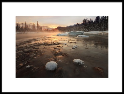Buy this art print titled Misty Winter Morning by the artist Hong Zeng