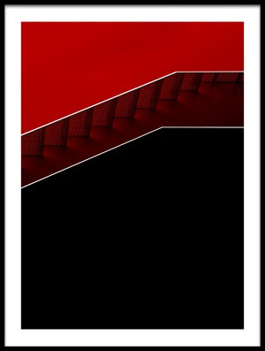 Buy this art print titled Modern Staircase by the artist Gilbert Claes
