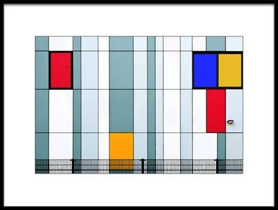 Art print titled Mondrian Inspired by the artist Henk van Maastricht