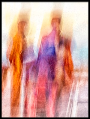 Buy this art print titled Monk Slow Shutter by the artist The Jar - Geir Jartveit