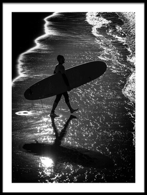 Art print titled Mono Surf by the artist Massimo Della Latta
