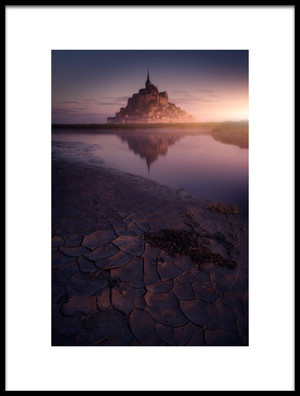 Buy this art print titled Mont St Michelle by the artist Iván Ferrero