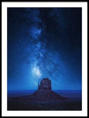 Buy this art print titled Monument Milkyway by the artist Juan Pablo de Miguel