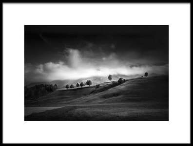 Art print titled Moody Autumn Day by the artist Franz Engels