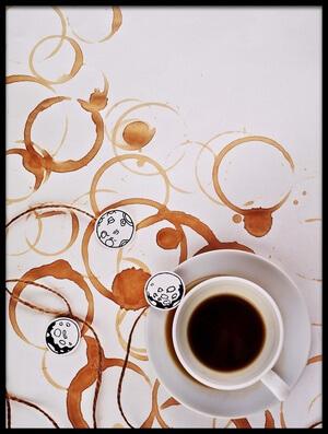 Buy this art print titled Moon Map by the artist Dina Belenko