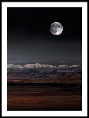 Buy this art print titled Moon Night by the artist Selions