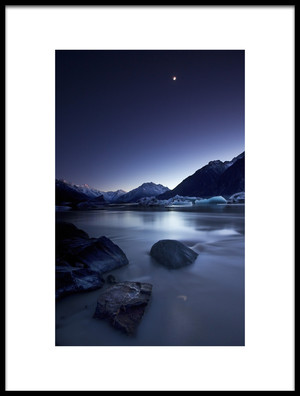 Buy this art print titled Moonlight by the artist Yan Zhang