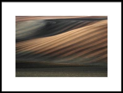 Art print titled Moravian Lines by the artist Jakub Koziol